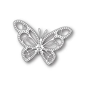 Poppy Stamps Stanzschablone - Daphne Butterfly