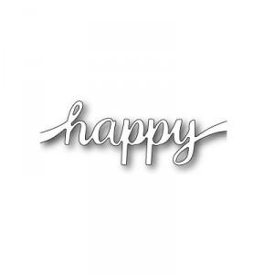 Poppy Stamps Stanzschablone - Happy Sash