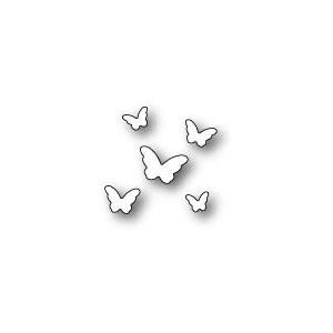 Poppy Stamps Stanzschablone - Butterfly Sprinkles