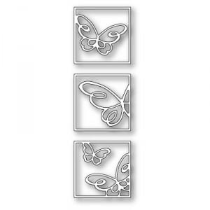 Poppy Stamps Stanzschablone - Bellina Butterfly Triptych