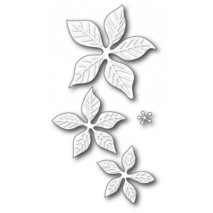 Poppy Stamps Stanzschablone - Holiday Poinsettia