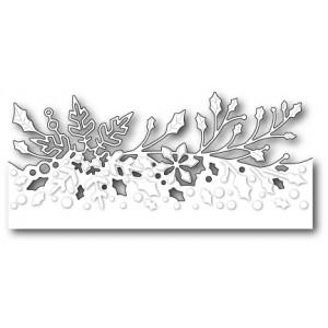 Poppy Stamps Stanzschablone - Wintergreen Border