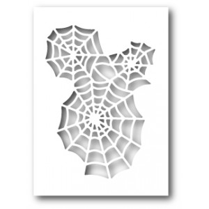 Poppy Stamps Stanzschablone - Spider Web Cutout