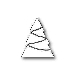 Poppy Stamps Stanzschablone - Modern Pieced Tree