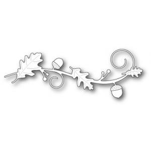 Poppy Stamps Stanzschablone - Oak Leaf Swirl