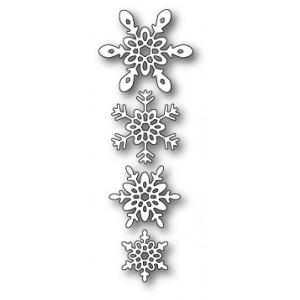 Poppy Stamps Stanzschablone - Ava Snowflakes
