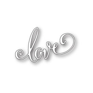 Poppy Stamps Stanzschablone - Swirled Love