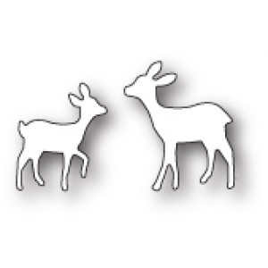 Poppy Stamps Stanzschablone - Playful Fawns