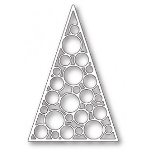 Poppy Stamps Stanzschablone - Merry Bauble Tree
