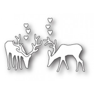 Poppy Stamps Stanzschablone - Grazing Deer