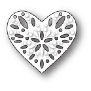 Poppy Stamps Stanzschablone - Capri Heart - 20% RABATT