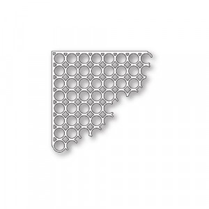 Poppy Stamps Stanzschablone - Ring a Ding Corner