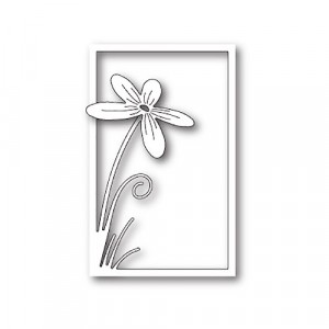Poppy Stamps Stanzschablone - Floral Stem Collage