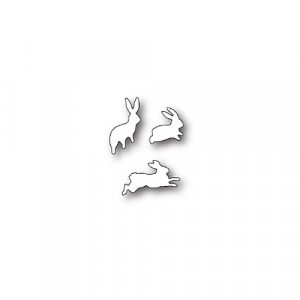 Poppy Stamps Stanzschablone - Bunny Hop