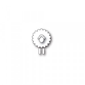 Poppy Stamps Stanzschablone - Simple Sheep