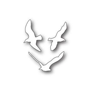 Poppy Stamps Stanzschablone - Birds in Flight