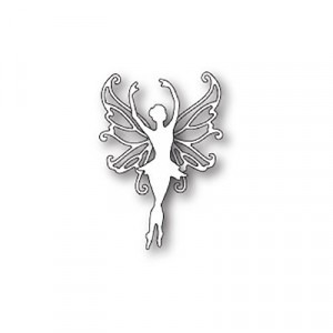 Poppy Stamps Stanzschablone - Poised Faerie