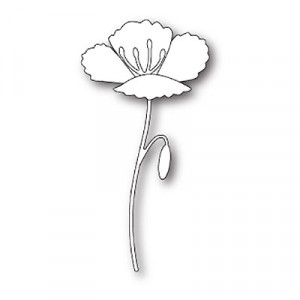 Poppy Stamps Stanzschablone - Blooming Poppy