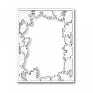 Poppy Stamps Stanzschablone - Brilliant Leaf Frame