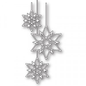 Poppy Stamps Stanzschablone - Crystal Ornaments