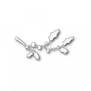 Poppy Stamps Stanzschablone - Holly Twig