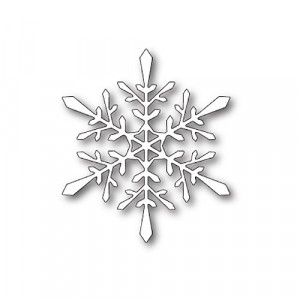 Poppy Stamps Stanzschablone - Fractal Snowflake