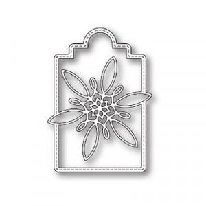 Poppy Stamps Stanzschablone - Celeste Snowflake Tag