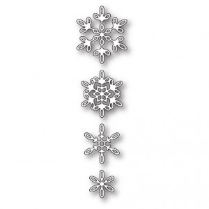 Poppy Stamps Stanzschablone - Evangeline Snowflakes