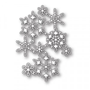 Poppy Stamps Stanzschablone - Snowflake Screen
