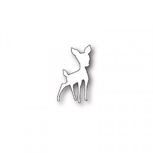 Poppy Stamps Stanzschablone - Cute Fawn