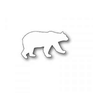 Poppy Stamps Stanzschablone - Roaming Polar Bear