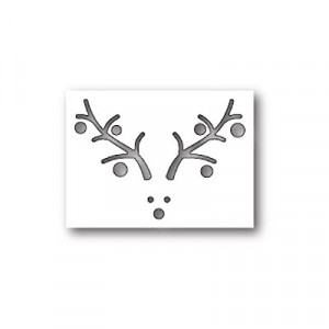 Poppy Stamps Stanzschablone - Rudolph Collage