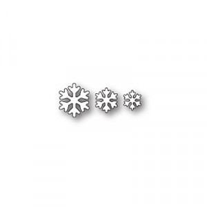 Poppy Stamps Stanzschablone - Simple Snowflakes