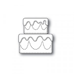 Poppy Stamps Stanzschablone - Frosted Cake