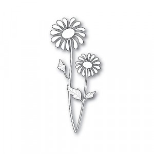 Poppy Stamps Stanzschablone - Delightful Daisy