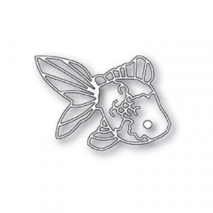 Poppy Stamps Stanzschablone - Curious Koi