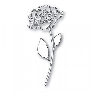 Poppy Stamps Stanzschablone - Rose Stem