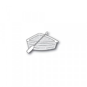 Poppy Stamps Stanzschablone - Wooden Rowboat