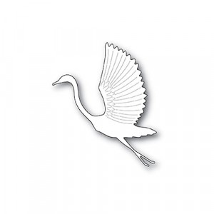 Poppy Stamps Stanzschablone - Graceful Heron