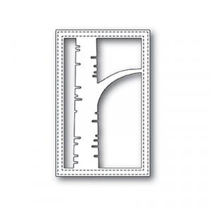 Poppy Stamps Stanzschablone - Birch Stitched Frame
