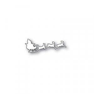 Poppy Stamps Stanzschablone - Santas Sleigh