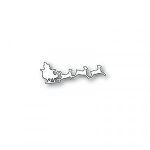 Poppy Stamps Stanzschablone - Santa's Sleigh