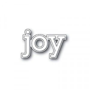 Poppy Stamps Stanzschablone - Joy Outline