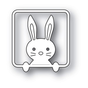 Poppy Stamps Stanzschablone - Peek a Boo Bunny