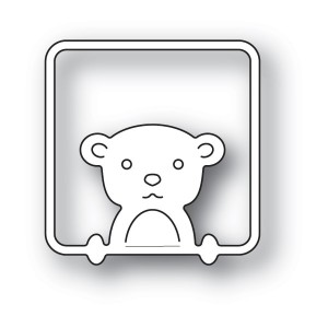 Poppy Stamps Stanzschablone - Peek a Boo Bear