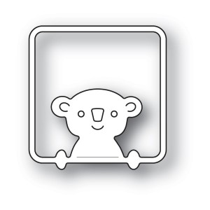 Poppy Stamps Stanzschablone - Peek a Boo Koala