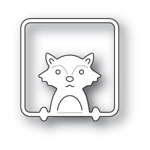 Poppy Stamps Stanzschablone - Peek a Boo Fox