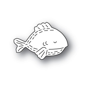 Poppy Stamps Stanzschablone - Whittle Fish