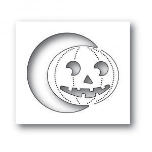 Poppy Stamps Stanzschablone - Smiling Jack o Lantern