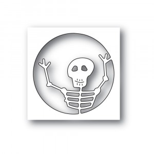 Poppy Stamps Stanzschablone - Surprise Skeleton